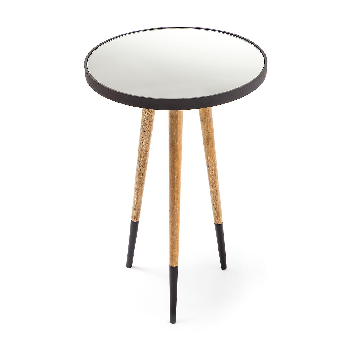 Basse Noir Design Table Salon Naturel kZiuPX