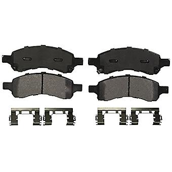 Wagner QuickStop ZX1169 Semi-Metallic Disc Pad Set Includes Pad Installation Hardware, Front