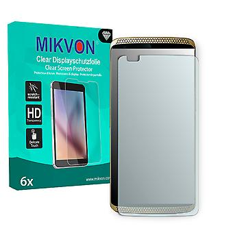 ZTE Axon Screen Protector - Mikvon Clear (Retail Package with accessories) (reduced foil)