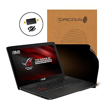 Celicious Privacy 2-Way Anti-Spy Filter Screen Protector Film Compatible with ASUS ROG GL552VW