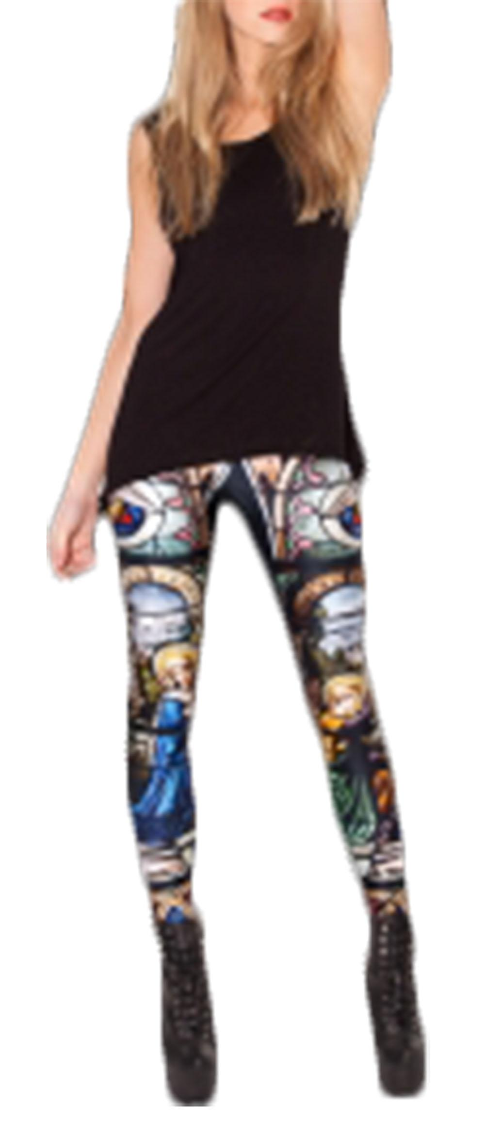 Waooh - printed leggings windows Ighu