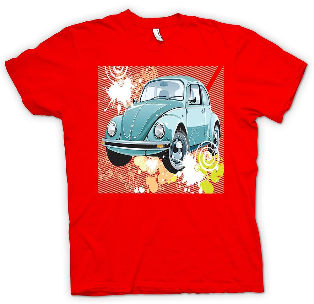 Mens T-shirt - VW Beetle - Pop Art