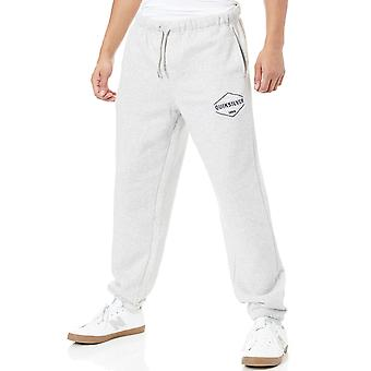 Quiksilver Light Grey Heather Trackpant Screen Jogger
