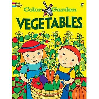 Vegetables Colouring Book (Colour & Garden)