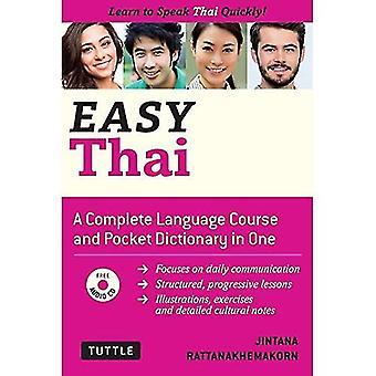 Tailandés fácil: Aprende a hablar tailandés rápidamente (incluye CD Audio)
