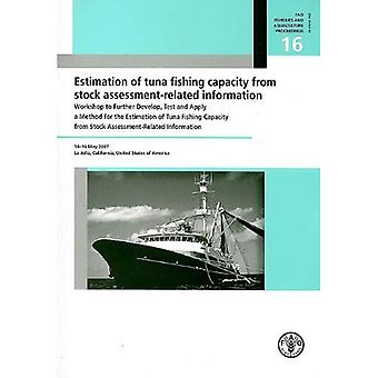 Estimation of Tuna Fishing Capacity from Stock Assessment-Related Information: Workshop to Further Develop, Test and Apply a Method for the Estimation