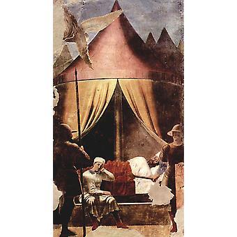 The Dream of Constantine, Piero della Francesca, 80x44cm
