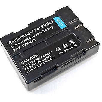 Battery for Nikon EN-EL3 ENEL3 EN-EL3a ENEL3a D50 D70 D70s D100 D-50 D-70 D-70s D-100 SLR Set