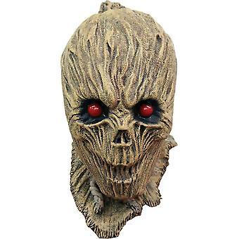 Geschrumpfte Vogelscheuche Latex-Maske für Halloween