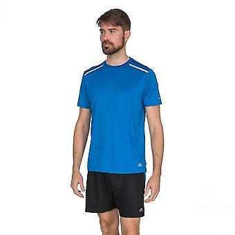 Camiseta de Fitness Running T traspaso Astin para hombre manga corta