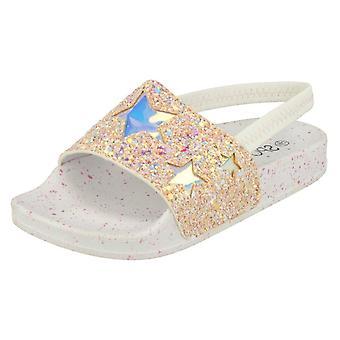 Meisjes plek op Glitter schuifregelaars H0298