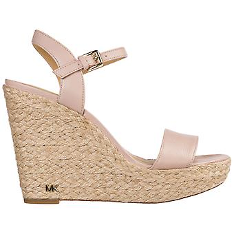 Michael Kors Pink Leather Wedges