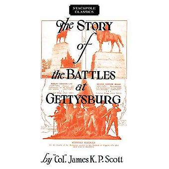 The Story of the Battles at Gettysburg by James K. Scott - 9780811737