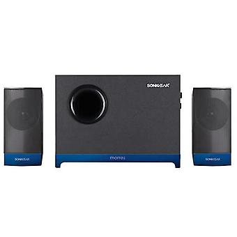 SonicGear Morro 2 2.1 Speaker With Wooden Sub Woofer Set