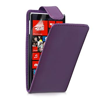 YouSave Accessories Nokia Lumia 720 Leather Effect Flip Case Purple