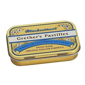 Grether's Blackcurrant Pastilles 60g