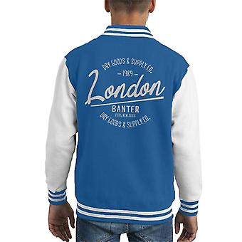 London Banter Dry Goods & Supply Co Kid's Varsity Jacket