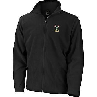 Schottische und nordirische Yeomanry - lizenzierte britische Armee bestickt leichte Microfleece Jacke