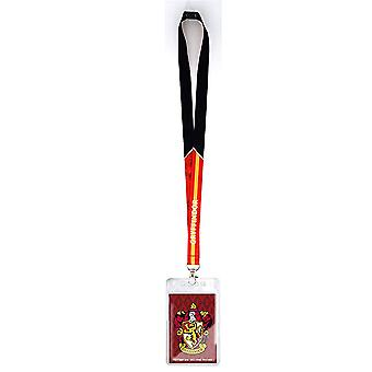 Lanyard - Harry Potter - Gryffindor Crest w/Card Holder New 48471
