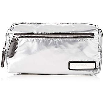 Calvin Klein Primary Cosmetic Bag S - Femme Grey (Argent) 1x1x1 cm (W x H L)