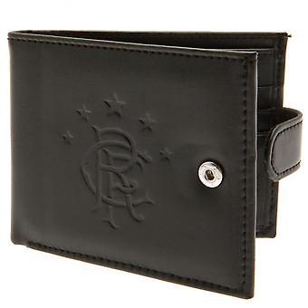 Rangers FC RFID Anti Fraud Leather Crest Wallet
