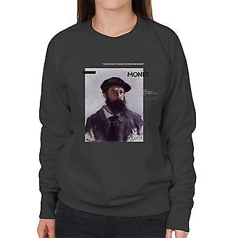 A.P.O.H Monet Paint The Way Birds Sing Quote Women's Sweatshirt