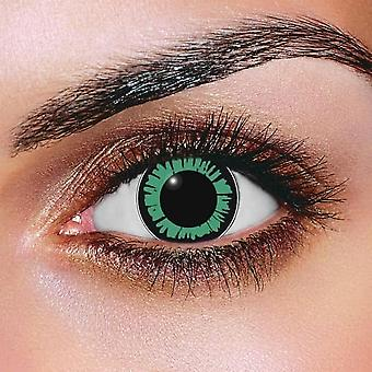 Big Eye Dolly Eye Green Contact Lenses (Pair)