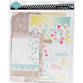 Dreamy Memory Files Kit Fotostack Booklet, 4 Files & Stickers Hs01178