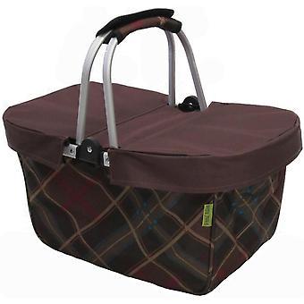 Janetbasket Brown Large Basket Cover Brown Nbc001