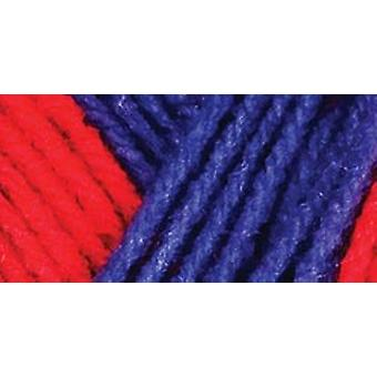 Red Heart Team Spirit Yarn Red Blue E797 940