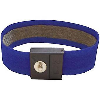 ESD wrist strap Marine blue BJZ C-189 145P 4.0 4 mm stud and socket