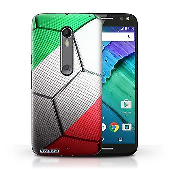 STUFF4 Case/Cover for Motorola Moto X Style/Italy/Italian/Football Nations