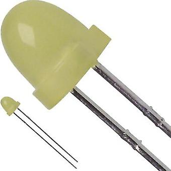 LED wired Yellow Circular 5 mm 20 mcd 60