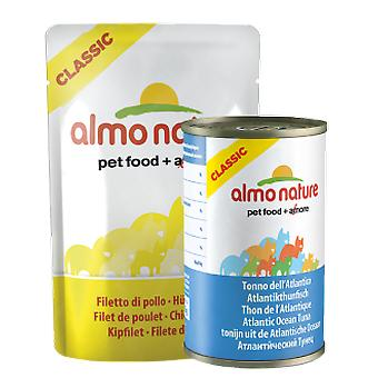 Almo nature Chicken With Anchovies (Cats , Cat Food , Wet Food)