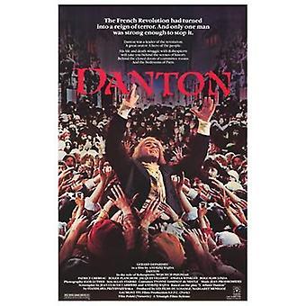 Poster do filme Danton (11 x 17)