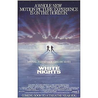 Poster do filme noites brancas (11 x 17)