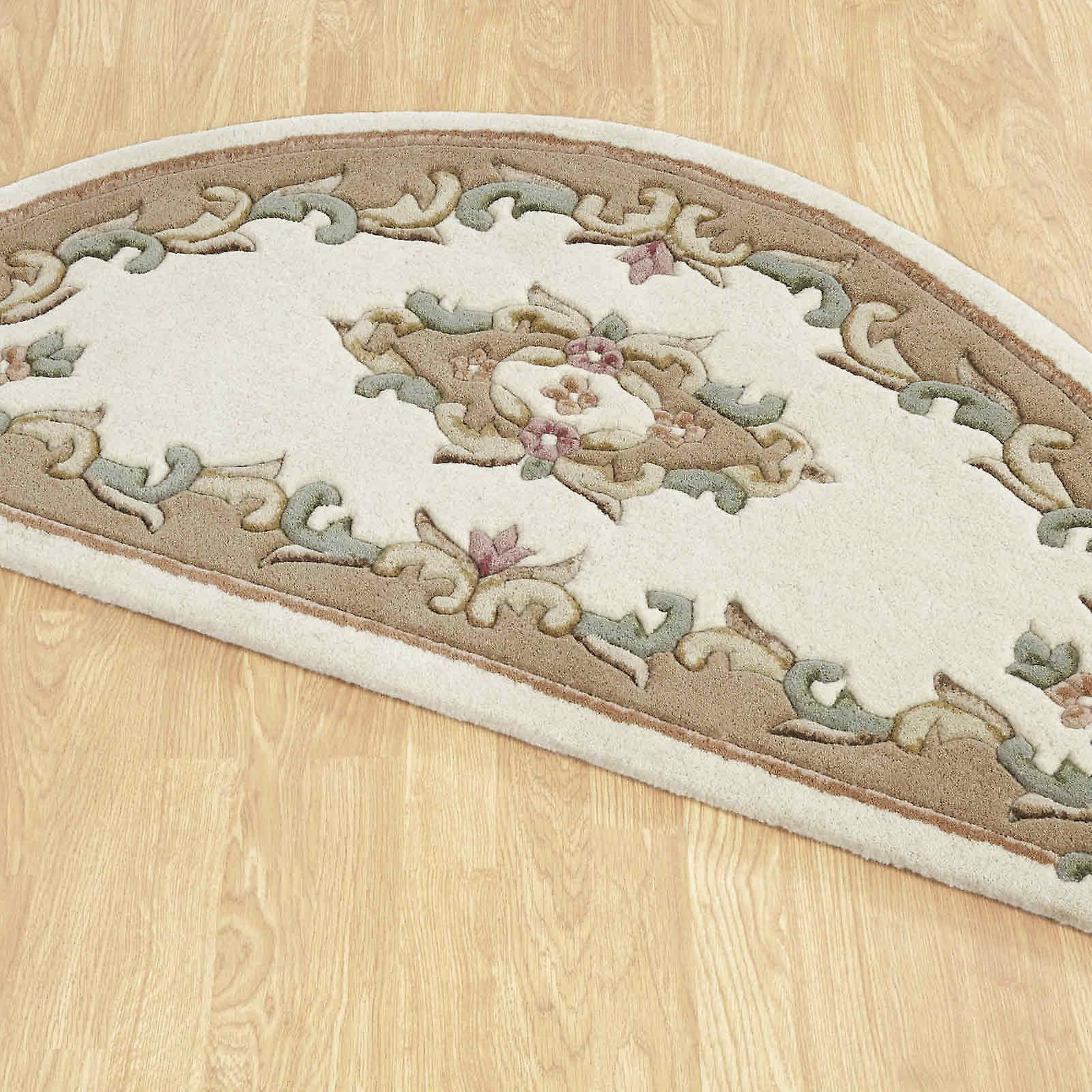 Royal Aubusson Half Moon tepper krem beige