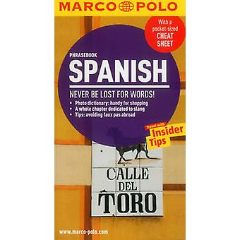 Spanish Phrasebook 9783829708227 by Marco Polo