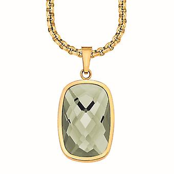 s.Oliver jewel ladies chain necklace silver IP gold SO1164/1 - 508292