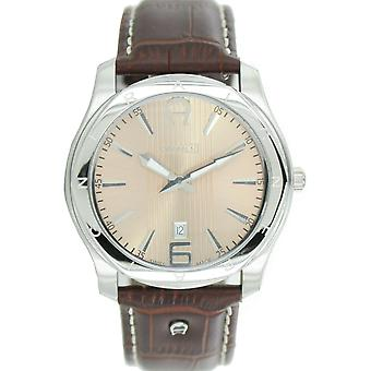 Aigner mens watch wristwatch leather Lazio A32142A