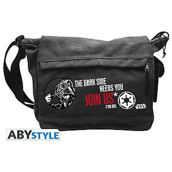 Abysse Star Wars Messenger Bag Vador Join Us Big Size (Toys , School Zone , Backpacks)