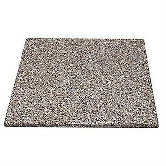 Monero 70Cm Square Kitchen And Dining Table Top Granite Effect Commercial Quality