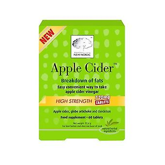 New Nordic, Apple Cider High Strength, 60 tablets
