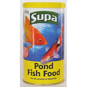 Supa Pond Food Standard 200g (Pack of 12)