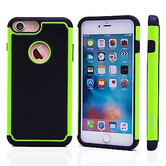 32e shock-Proof Case + stylus voor Apple iPhone 7 - groen