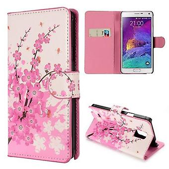 Wallet Pocket motrice 6 pour Samsung Galaxy Note 4 N910 N910F