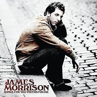 James Morrison - Songs for è verità per importazione USA Me [CD]