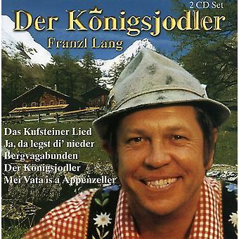 Franzl Lang - Der Koenigsjodler [CD] USA import