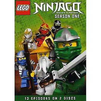 Lego Ninjago: Masters of Spinjitzu: Season 1 [DVD] USA import