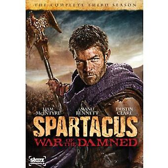 Spartacus: War of the Damned [DVD] USA import